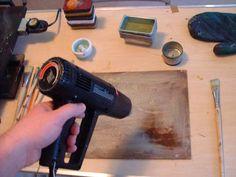 "Article on Encaustic Painting> ""Painterly Encaustic Techniques""  Author: Ed_Zawadzki, Contributing Editor"