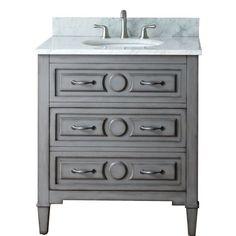 Avanity Kelly KELLY-V30-GB Grayish Blue 30 x 21 x 34 Bathroom Vanity