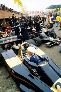 Jody Scheckter, Mario Andretti & Gunnar Nilsson, Lotus Ford's Grand Prix of Belgium at Zolder Gt Cars, Indy Cars, Race Cars, Jody Scheckter, Belgian Grand Prix, Mario Andretti, Formula 1 Car, Classic Motors, Classic Cars