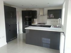 Gloss Kitchens Affordable Modern Gloss Kitchens Wren Kitchens I - Gloss grey kitchen units