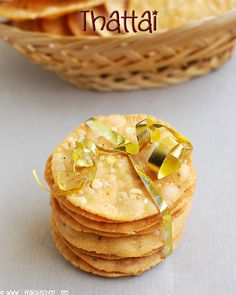 Deep fried rice crackers