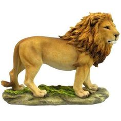 Lion Sculpture Home Decor Figurine