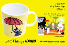 Moomin mug Little My by Arabia - Moomin Moomin Mugs, Tove Jansson, Little My, Tableware, Books, Landscape Architecture, Trays, Den, History