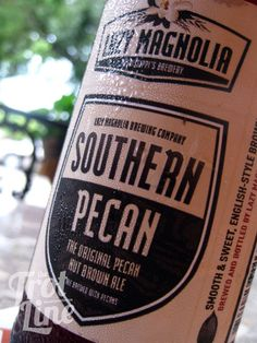 Southern Brews: Lazy Magnolia's Southern Pecan Nut Brown Ale - craft beer - the South -   http://setthetrotline.com/2012/04/16/southern-brews-lazy-magnolias-southern-pecan-nut-brown-ale/