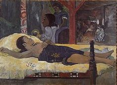 Why would a dissolute rebel like Paul Gauguin paint a nativity? Martin Gayford investigates how this splendid Tahitian Madonna came about and why religion was ever-present in Gauguin's art Martin Gayford ['The Birth of Christ', by Paul Gauguin] Paul Gauguin, Henri Matisse, Gauguin Tahiti, List Of Paintings, Painting Prints, Canvas Prints, Art Print, Art Français, The Birth Of Christ