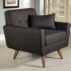 Abbyson Living Paisley Tufted Fabric Arm Chair & Reviews | Wayfair $491