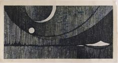 The Lavenberg Collection of Japanese Prints, Rei Yuki 由木礼 Spleen, 1965 Rei's. Snow Lightning, Japanese Prints, Wood Engraving, Woodblock Print, Love Art, Printmaking, Illustration, Artwork, Mono Print