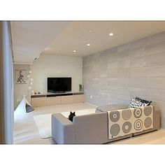 Lcd Panel Design, Natural Interior, Architecture, Living Room, Storage, Tent, House, Furniture, Home Decor