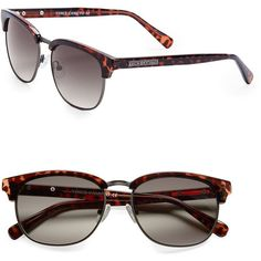 Vince Camuto 57mm Sunglasses (1514060 BYR) ❤ liked on Polyvore featuring accessories, eyewear, sunglasses, tortoise, tortoise sunglasses, tortoiseshell glasses, tortoise glasses, vince camuto glasses and tortoise shell glasses