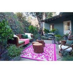 Venice Rug - Cream + Pink by Fab Habitat