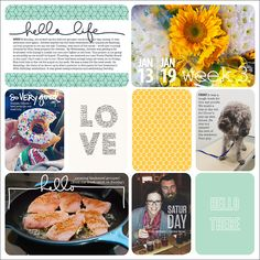 Project Life 2014 | Week 3 Sailing Blog | LAHOWIND | LAHOWIND | Sailing Blog LOVE her pages!! @Kimberly Young