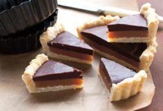 Étcsokoládés-karamelles pite