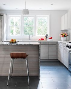 Miller's Meadow Farm Kitchen - modern - kitchen - boston - LDa Architecture & Interiors