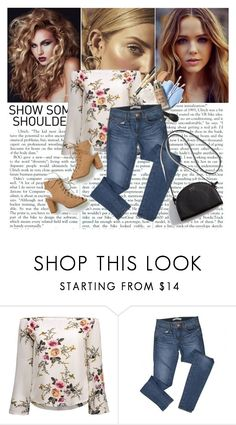 """""""Show Some"""" by arrow1067 ❤ liked on Polyvore featuring J Brand and showsomeshoulder"""