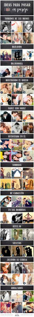 Ideas para sesión de fotos en pareja