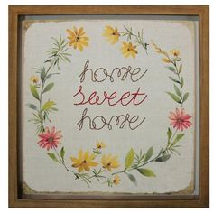ARTHOUSE Home Sweet Home Framed Picture ($34) ❤ liked on Polyvore featuring home, home decor, wall art, home sweet home picture, home sweet home wall art, framed picture, framed wall art and home sweet home decor