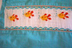 """Made by Linda Regan Creamer.  Plate: """"Gracie's Goldfish"""" by Fancy Stitches.  Used McCalls 9369 with some alterations."""