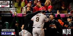 One for the books. #SFGiants #OCTOBERTogether