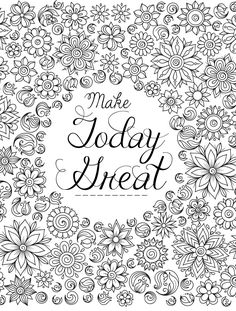 20 Gorgeous Free Printable Adult Coloring Pages  Davlin Publishing…  Davlin…