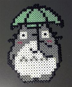 Totoro Perler Beads by ainhi90 on deviantART