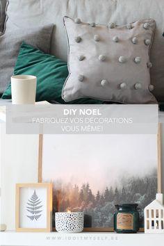 Fabriquez vous mêmes de jolis objets déco à offrir à vos proches pour les fêtes. #DECO #DIYDECO #DIYHYGGE #DIYCOUSSIN #DIYBOUGIE Hygge, Diy And Crafts, Throw Pillows, Inspiration, Decor, Diy Cushion, Noel, Objects, Biblical Inspiration
