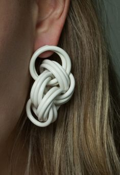 ANDREA AUER -AT Cabling collection - earrings - www.scicche.it