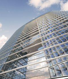 Galeria de Primeiro lugar no concurso das Torres duplas para o Campus de Alta Tecnologia e Pesquisa / KSP Jürgen Engel Architekten - 17