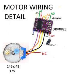 Electronics Components, Diy Electronics, Electronics Projects, Electronic Circuit Design, Electronic Engineering, Electrical Projects, Electrical Wiring, Stepper Motor Arduino, Cnc Maschine