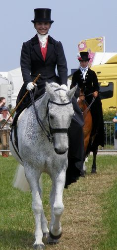 Side Saddle Grey