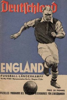 Football-Programme-1938-Germany-v-England-in-Berlin
