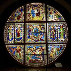 The original stained glass window from the Siena Cathedral is kept in the Cathedral Museum. So are many of the statues and paintings. Stained Glass Light, Stained Glass Windows, Siena Cathedral, Siena Italy, World Photo, Medieval Town, National Geographic Photos, Your Shot, Religious Art