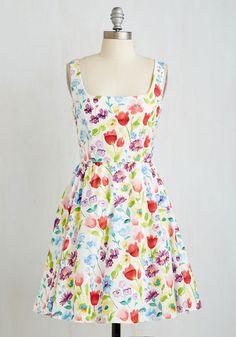 Floral Finesse Dress, @ModCloth