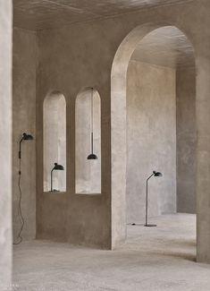 News from Carl Hansen & Søn Interior Exterior, Interior Design, Arch Interior, Daybed Design, Bar A Vin, Tadelakt, Bench Designs, Building Furniture, Minimalist Interior