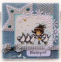 Rosina's Scrapcards Hobby House, Marianne Design, Cool Pets, Winter Fun, Cool Cards, Cardmaking, Christmas Cards, Daisy, Scrap