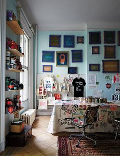 Blue Studio | Rebel With a Cause: At Home with Pamela Bell of Prinkshop.