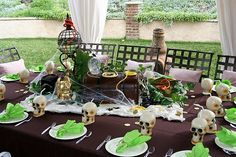 I could get really carried away with the table decor.