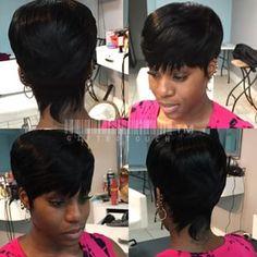 mushroom haircut weave - Google Search