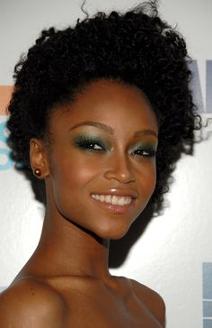 Celebrity Hair Profile: Yaya DaCosta Natural Hair Styles