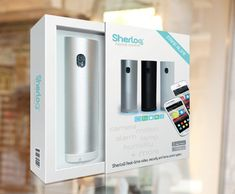Video – security & Home Control System / SherloQ is the most innovative and well designed Video- security & Home Control System for 99$. / http://thegadgetflow.com/portfolio/video-security-home-control-system/