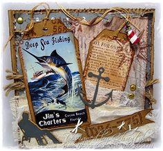 Cards made by Chantal: Deep Sea Fishing