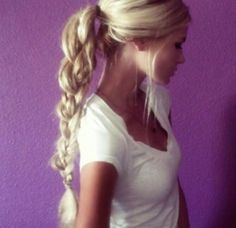 #Braid #Blond #Hair