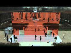 christian dior spring/summer 2014 runway show set by bureau betak in the gardens of musée rodin, paris, france