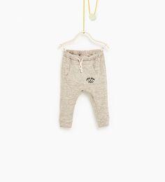 ZARA - KIDS - Trousers with pouch pocket