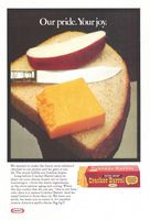 Kraft Cracker Barrel Cheese 1971 Ad Picture