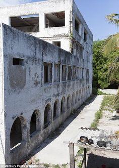 Hacienda Napoles - Pablo Escobar's abandoned mansion on one of the Rosario Islands
