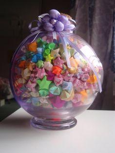 Jar Of Lucky Stars Origami