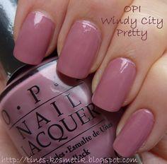 Tines Kosmetikblog: OPI Windy City Pretty