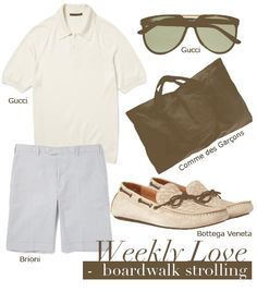 Weekly Love for Men: Boardwalk Strolling