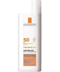 La Roche-Posay Anthelios Mineral Tinted Sunscreen for Face SPF 50, $36.99 Best Acne Products, Sun Care, Beauty Junkie, Tinted Moisturizer, Beauty Shop, Sun Protection, Clear Skin, Sunscreen, Minerals