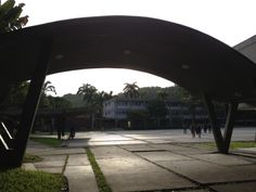 Universidad Central de Venezuela. Carlos Raul Villanueva. Caracas.